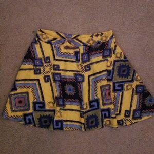Dresses & Skirts - Patterned skirt from Target. Xhilaration brand.